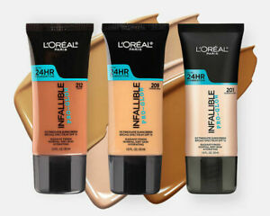 L'Oreal Infallible Pro-Glow 24 HR Foundation CHOOSE YOUR SHADE Sealed Expired