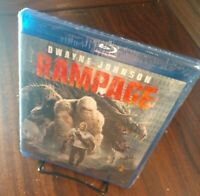 Rampage (Blu-ray Disc)-Brand NEW (Sealed)-Free Shipping with Tracking