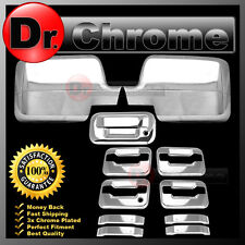04-08 Ford F150 Chrome Mirror+4 Door Handle+no keypad+no keyhole+Tailgate Cover