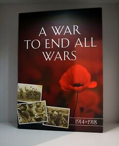 2017 The War to End all Wars Coin Presenation Folder plus Battle of Ypres Coin