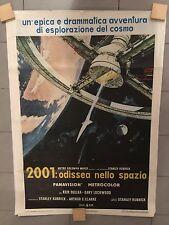 Manifesto Originale 100x150 2001 ODISSEA NELLO SPAZIO Stanley KUBRICK old cult 1