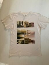H&M LOGG CREAM ROUTE 66 GRAPHIC T-SHIRT – UK SMALL