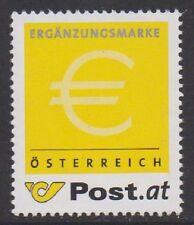 Österreich 2002 Ergänzungsmarke - gelbe Marke - gezähnt postfrisch