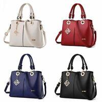Elegant Women Tote Shoulder Bags Ladies Leather Handbag Purse Hobo Work Satchel
