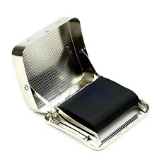 Roller Tobacco Box 70mm Metal Automatic Cigarette Smoking Rolling Machine New