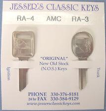 Original AMC Keys 1982 1983 1984 1985 1986 NOS New Old Stock American Motors