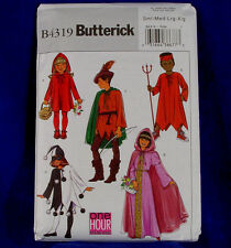 Butterick BP427 or 4319 Kids 5 Looks Costume Sewing Pattern S-XL NEW Uncut