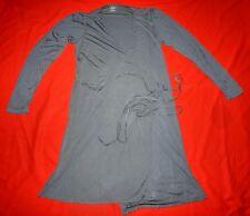 MAJESTIC FILATURES Paris Manches Longues Robe - Gris - Taille 2 S/M