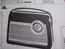 NORDMENDE CONDOR 1/608US TRANSISTOR RADIO PHOTOFACT