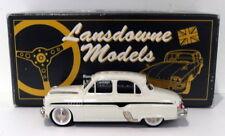 Lansdowne Models 1/43 Scale LDM2A - 1957 Vauxhall Cresta E Series - White