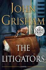 The Litigators by John Grisham (2011, Paperback, Large Type)