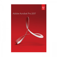 Adobe Acrobat Pro Professional 2017 for 2 MAC installs Product license GST Inv.