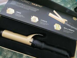 "OPEN BOX Bio Ionic Gold Pro Smoothing & Styling Iron 1.5"" - Tested & Working"