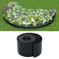 vidaXL Bordure de Jardin Noir 10 m 15 cm PE Pelouse Plate-bande Parterre Allée