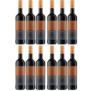12x WV Freyburg-Unstrut Dornfelder Rotwein Wein halbtrocken Deutschland
