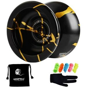 Magicyoyo N11 Alloy Aluminum Professional Yoyo Unresponsive Yoyo Ball (Black