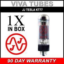 Brand New Plate Current Tested JJ Tesla KT77 Vacuum Tube KT-77