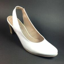 Bridal or Wedding Slingbacks 100% Leather Heels for Women