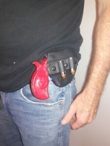 Bond Arms Back Up & RoughNeck Driving Kydex Holster w/ Extra Ammo Attachment