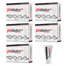 PROSOLUTION PLUS PILLS 5 Month ERECTION ENHANCEMENT PREMATURE EJACULATION + GEL