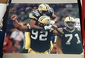 Leroy Butler Green Bay Packers SIGNED AUTOGRAPHED 8x10 Photo COA Reggie White