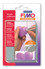 FIMO Schleif- und Polier-Set mit 3 Schleifschwämmen