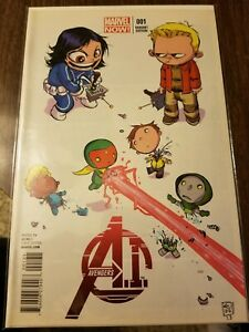 AVENGERS A.I.  #1 Marvel Now! SKOTTIE YOUNG Variant NM Vision Stan Lee