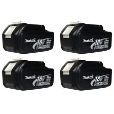 Makita BL1830 18V 3.0Ah LXT Lithium Ion Battery 4PK for DC18RA replaces BL1815