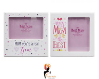 4x6 MUM PRINTED PHOTO FRAME Assorted colour Mothers Day Gift Printed Picture UK