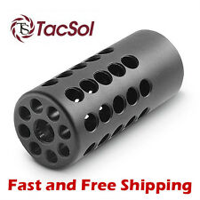 Tactical Solutions X-Ring Compensator/Muzzle Brake for Ruger 10/22 - Matte Black