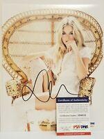 Sienna Miller Signed 8x10 Photo PSA/DNA COA