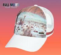 New Roxy Dig This Desert Womens Marshmellow Trucker Snapback Cap Hat