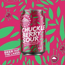 More details for chuckleberry sour hawkshead empty beer cans. brand name origin pre12th century