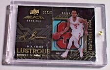 2013-14 UD Black Gold Spectrum Rookie Autograph Lorenzo Brown /25 NC State