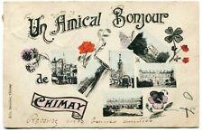 CPA - Carte Postale - Belgique - Un Amical Bonjour de Chimay - 1907 (D12383)