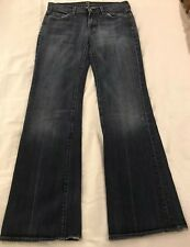 """SEVEN 7 FOR ALL MAN KIND Jeans, Size 28 Bootcut in """"Nakita"""" , Womens Jeans. EUC"""