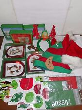 Lot Of 23 Assorted Christmas Items. Cards, Rings, Hats, Head Boppers, Gift Bags