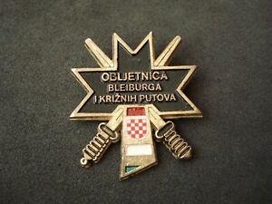 Croatia, Bleiburg anniversary badge, army, military, WWII, Ustasa, NDH