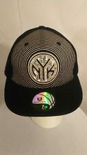 NEW YORK KNICKS NBA UNK Fitted 7 3/8 Black Silver Hat Cap