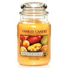 Yankee Candle mango Melocotón Salsa - 625ml tarro grande