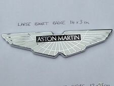 Aston Martin Bonnet Badge Extra Large NEW