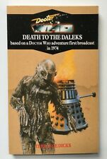 Doctor Who - Death to the Daleks - Virgin Blue Spine Reprint - Target 20