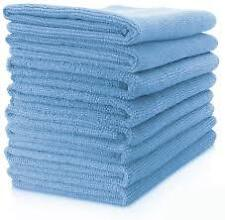 20 x Absorbent Microfibre Car & Home Cleaning Polish Wash Valet Towel Cloth BLUE