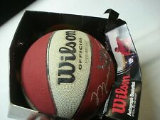 VINTAGE WILSON OFFICIAL AIR ATTACK MICHAEL JORDAN AUTOGRAPH BASKETBALL WITH BOX