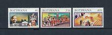Botswana  179-81 MNH, Queen Elizabeth 25th Anniversary,1977