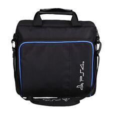 PS4 Bag Travel Storage Carry Zipper Nylon Case Protective Shoulder Bag Black