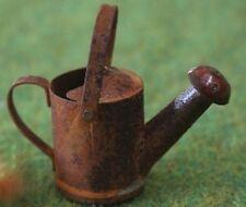 RUSTY Annaffiatoio, DOLLS HOUSE miniatura accessorio da giardino, giardinaggio Accessorio