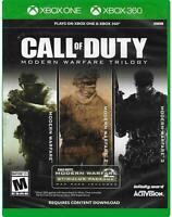 Call of Duty Modern Warfare Trilogy - Xbox One & Xbox 360 - NEW FREE US SHIPPING