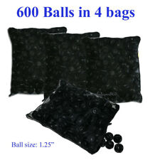 "600 pcs 1.25"" Bio Balls in 4 Free Media Bags Aquarium Koi Reef Fish Pond Filter"