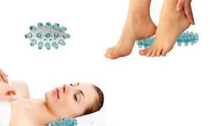 Reflexology Acupressure foot massager relaxing feet neck back pain *NEW*